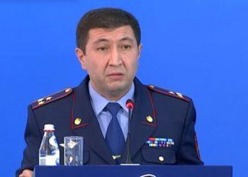 ІІМ Өзіндік қауіпсіздік департаментінің бастығы Арман Саданов