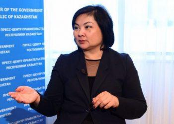 Білім және ғылым вице-минитрі Ш.Қаринова