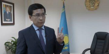 Министр А.Аймағамбетов. Фото: Хабар 24