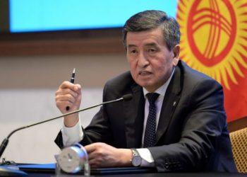 ҚР президенті С.Жээнбеков. Фото: eadaily.com
