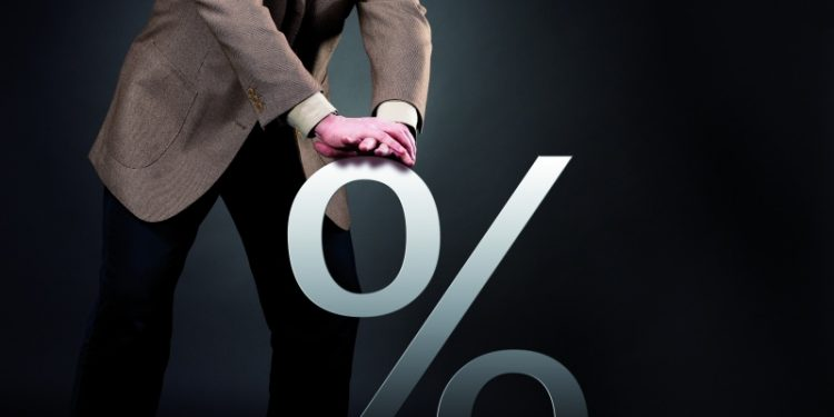Pushing down interest rate